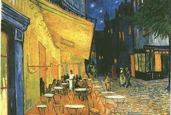 夜のカフェテラス,ファン・ゴッホ
