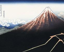 山下白雨 葛飾北斎 富嶽三十六景 美術館 美の巨人たち
