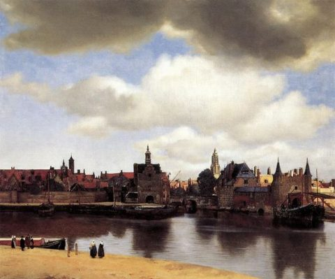 デルフトの眺望(1660年~61年)