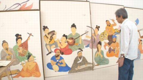 薬師寺障壁画に挑む細川護熙 元総理
