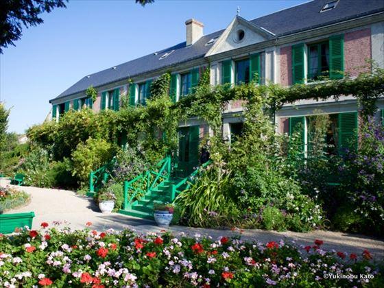 モネの家、ジヴェルニーの庭と家